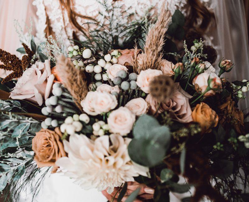 Buds Wedding Bouquet Flowers