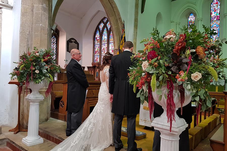 church pedestals