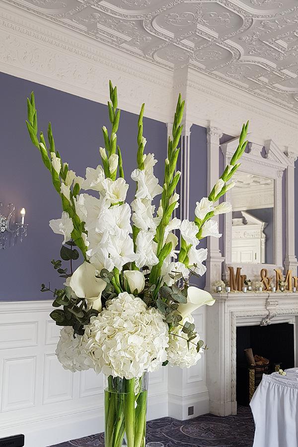 Tall flare vase
