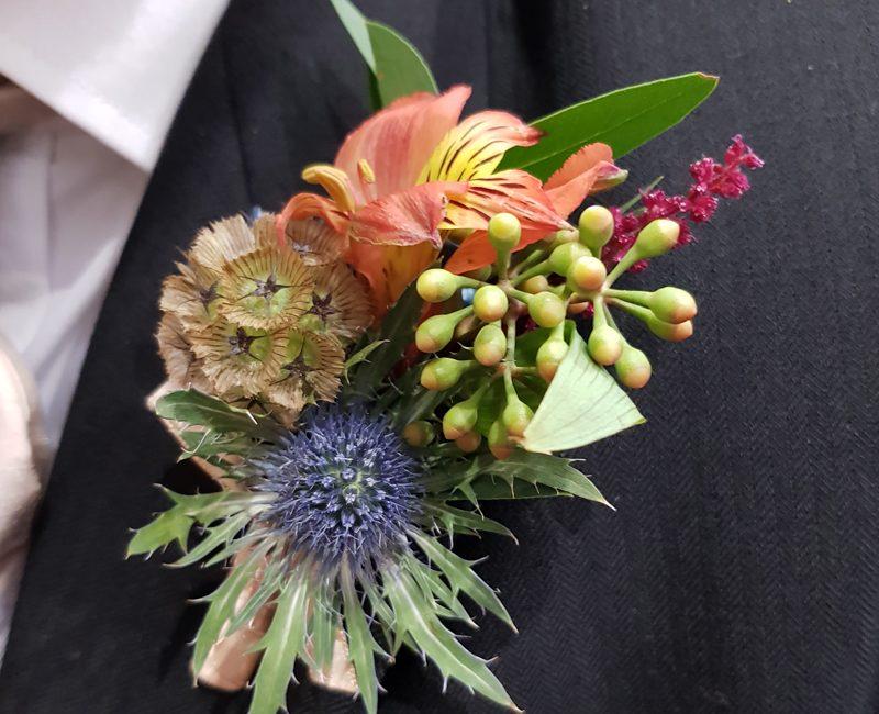 Buds Floristry Buttonholes